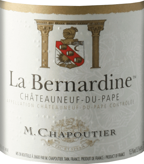 La Bernardine Châteauneuf-du-Pape AOC 2016 - M. Chapoutier von M. Chapoutier