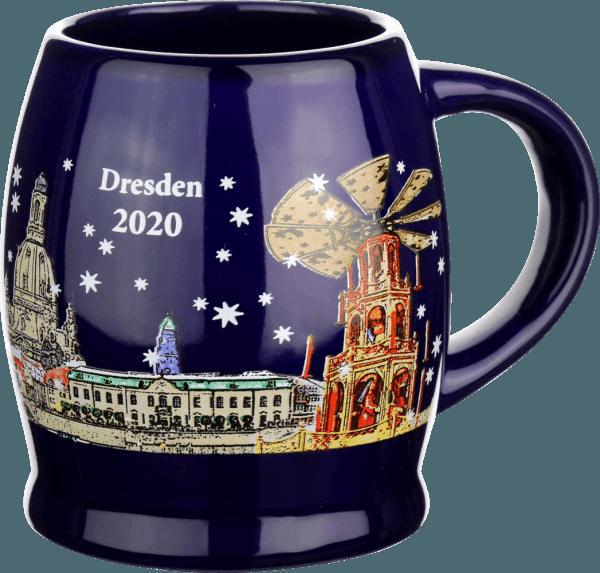 Glühwein-Tasse - Weihnachtsmarkt an der Frauenkirche 2020