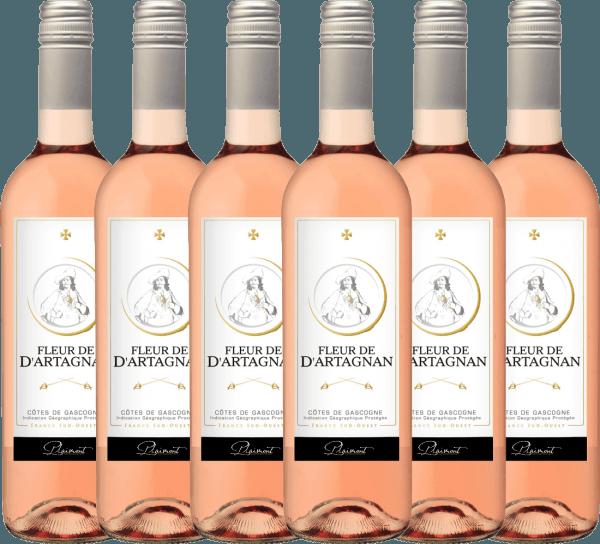 6er Vorteils-Weinpaket - Fleur de d'Artagnan Rosé 2019 - Plaimont