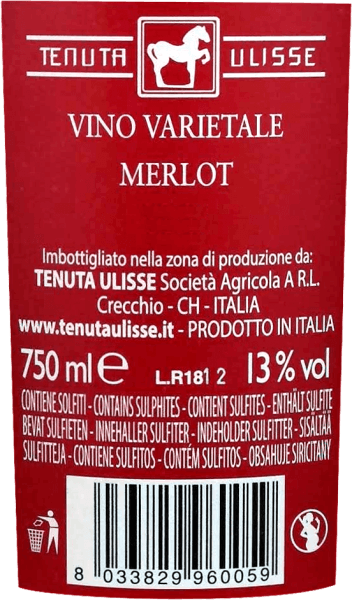 Merlot Rosato Terre di Chieti IGT 2019 - Tenuta Ulisse von Tenuta Ulisse