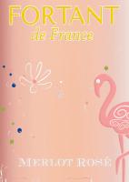 Vorschau: Merlot Rosé serigrafiert 2019 - Fortant de France