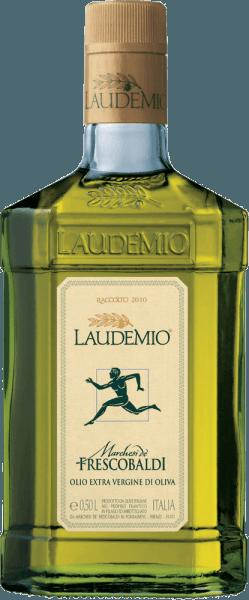 Laudemio-Öl ist das kostbarste Olivenöl der Toskana. Der Feinschmecker zeichnete das Laudemio Olio Extra Vergine di Oliva von Marchesi de' Frescobaldi in der Blindverkostung als eines der besten aus 250 Olivenölen aus. Es erscheint klar in einem glanzvollen Grün, duftet nach frisch gemähtem Gras und Artischocken und hat einen intensiven, herrlich pikanten Geschmack. Es eignet hervorragend für gekochte Kartoffeln, Bohnen, gekochtes oder gegrilltes Gemüse, oder Fisch.