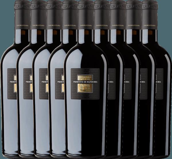9er Vorteils-Weinpaket - Sessantanni Primitivo di Manduria DOC 2017 - Cantine San Marzano