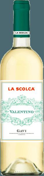 """Dieser feine Gavierlangt seine Frische durch das Keltern von Trauben junger Cortese-Rebstöcke. Er besitzt eine geschmackvolle Säure und ist sehr erlesen. Die Geschichte des Gavi ist untrennbar mit dem Gut Scolca verbunden, welche als erste den Weißwein Gavi aus reinen Cortese-Trauben kelterte. Würde man die Weinanbaugebiete wie in Frankreich klassifizieren, wäre La Scolca ein """"Premier Cru""""-Anbaugebiet. Für jeden Wein werden ganz persönliche Methoden der Weinselektion und Weinzubereitung verwendet. Food Pairing / Speiseempfehlung für denValentino Gavi DOCG von La Scolca Durch sein sanftes Bouquet passt er hervorragend zu Vorspeisen sowie leichten Fleisch- und Fischgerichten, Salaten und leichten Vorspeisen."""