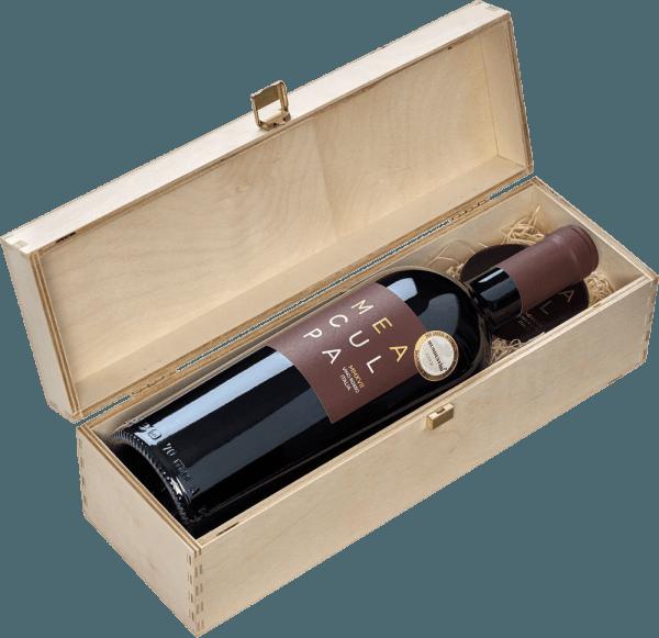 MEA CULPA Vino Rosso Italia in Holzkiste - Cantine Minini