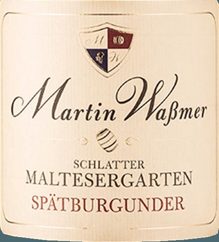 Schlatter Maltesergarten Spätburgunder 2017 - Martin Waßmer von Martin Waßmer