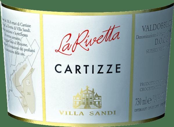 Cartizze Vigna La Rivetta Prosecco Superiore Spumante DOCG - Villa Sandi von Villa Sandi