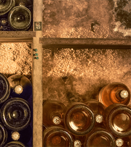 Im Weinkeller von Louis Roederer