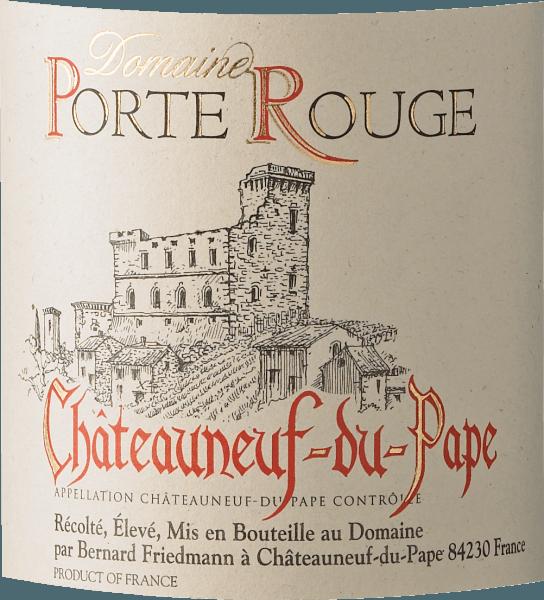 Chateauneuf-du-Pape AOC 2017 - Porte Rouge von Porte Rouge