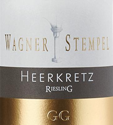 Siefersheim Heerkretz Riesling Großes Gewächs 2018 - Wagner-Stempel von Wagner-Stempel