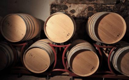 Holzfässer von Abtei Muri-Gries