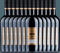 12er Vorteils-Weinpaket - Primitivo di Manduria Riserva DOC 2016 - Conte di Campiano
