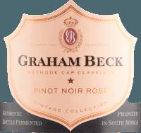 Vorschau: Cap Classique Brut Rosé Vintage 2015 - Graham Beck