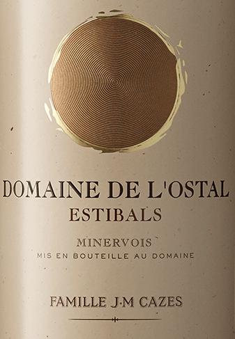 Domaine L'Ostal Cazes Estibals Minervois AOC 2018 - Domaines Cazes von Domaines Cazes