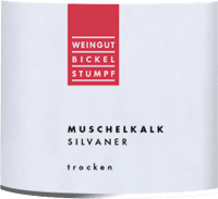 Vorschau: Silvaner Muschelkalk trocken 2019 - Bickel-Stumpf
