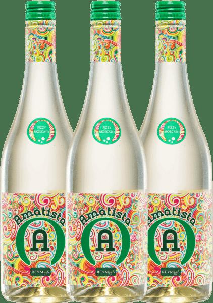 3er Vorteils-Weinpaket - Amatista Moscato Blanco Frizzante - Anecoop
