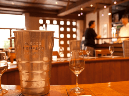 Das Weingut Trimbach im Elsass