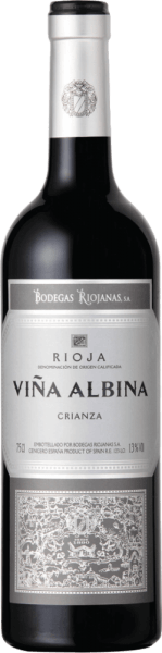 Vina Albina Crianza Rioja DOCa 2018 - Bodegas Riojanas