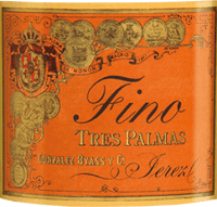 Vorschau: Tres Palmas Fino 0,5 l - Gonzalez Byass