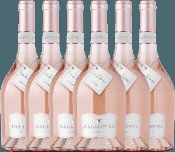 6er Vorteils-Weinpaket - Fantini Calalenta Merlot Rosato 2019 - Farnese