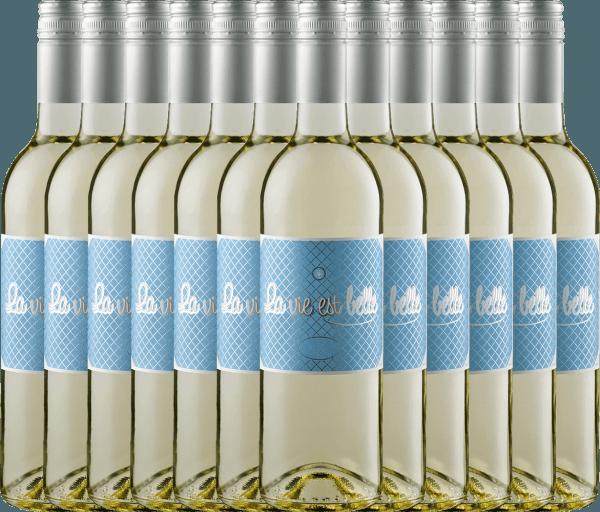 12er Vorteils-Weinpaket - La vie est belle blanc 2019 - La vie est belle