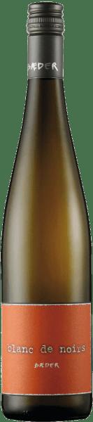 Der Spätburgunder Blanc de Noir ist eine wunderbare geschmackliche Kombination aus Weißwein und Rotwein. Von beiden Weinarten bringt er die besten Vorzüge mit: von den Spätburgundertrauben bekommt dieser Wein Struktur und Rasse, gepaart mit der Frische und Fruchtigkeit eines Weißweins. Am Gaumen ist dieser Blanc de Noir rund und sehr fruchtig. Speiseempfehlung für den Spätburgunder Blanc de Noir Genießen Sie diesen trockenen Weißwein zu mild geräuchertem Schinken, Lachs, gegrilltem Geflügel oder zu sommerlichen Salaten.