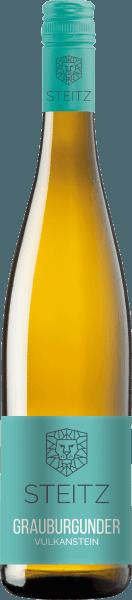 Grauer Burgunder Vulkangestein Deutscher Weißwein von Weingut Steitz