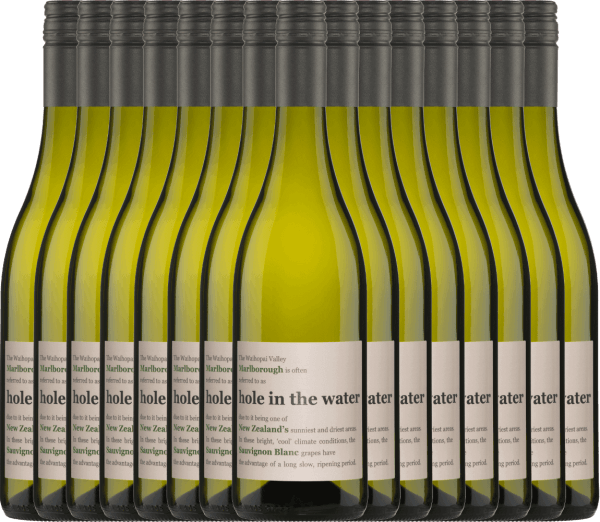 15er Vorteils-Weinpaket - Hole in the Water Sauvignon Blanc 2019 - Konrad Wines von Konrad Wines