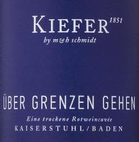 Vorschau: Über Grenzen gehen 3,0 l Bag in Box Weinschlauch 2018 - Weingut Kiefer