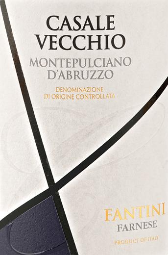 Casale Vecchio Montepulciano d'Abruzzo DOC 2017 - Farnese Vini von Farnese Vini