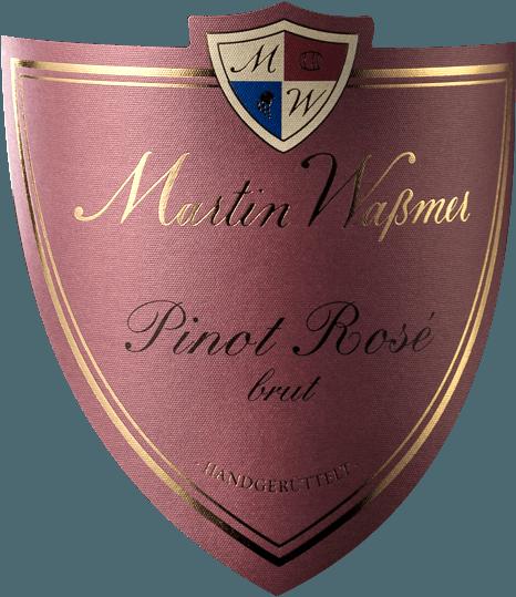Pinot Rosé Sekt Brut 2017 - Martin Waßmer von Martin Waßmer