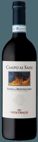 DerCampo ai Sassi Rosso di Montalcino DOC von Tenuta di CastelGiocondo ist ein würziger, mineralischer Rotwein, der aus Sangiovese- Trauben in der Toskana (Italien) vinifiziert wird. Er beeindruckt besonders durch seine harmonische Fruchtigkeit. Ein toller Tropfen für alle Liebhaber trockener Weine! Verkostungsnotiz/ Degustation des Campo ai Sassi Der Campo ai Sassi Rosso di Montalcino DOC von Tenuta di CastelGiocondofunkelt in einem satten Rubinrot. Die komplexe Nase steckt voller Fruchtnoten von Kirsche, Brombeere, Pflaume und Waldfrüchten, ergänzt um mineralische Anklänge, Röstnoten von Kakao und Kaffee sowie Nuancen von Tabak. Am Gaumen wirkt dieser herrliche Rotwein, der aus Sangiovese- Trauben aus der Toskana hergestellt wird, warm und weich. Dieser Wein ist wunderbar harmonisch mit glatten, gut in die Struktur integrierten Tanninen. Ein langer, nachhaltiger Abgang mit feinfruchtigem Nachhall rundet diesen würzigen italienischen Wein ab. Vinifikation/ Herstellung des Campo ai Sassi Der Campo ai Sassi wird aus der Rebsorte Sangiovese gekeltert. Die Trauben wachsen in recht jungen Weinbergen, deren Weine zwar bouquetreich und elegant, jedoch weniger Tannin-haltig sind als z.B. die Trauben, die für die Herstellung des Brunello verwendet werden. Nach der Ernte dürfen die Trauben 16 Tage lang in der Maische gären. Gleich nach der alkoholischen Gärung wird die malolaktische Gärung angeschlossen. Der Campo ai Sassi reift insgesamt 12 Monate: teils in slawischen Eichenfässern von 80 und 100 Litern Fassungsvermögen, teils in Barrique- Fässern. Die letzten 4 Monate verbringt dieser Rotwein im Flaschenlager. Hier kann er seine Komplexität und Harmonie vollends entfalten. Serviervorschlag/ Food Pairing für denCampo ai Sassi Rosso di Montalcino DOC Bei 16 bis 18°C ist er ein wunderbarer Begleiter von gemischten Wurstplatten, Pasta mit Fleischsoße sowie von Schmorfleisch wie Hähnchen oder Kaninchen.