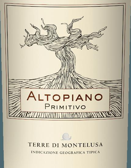 Altopiano Primitivo Puglia IGT 2019 - Terre di Montelusa von Terre di Montelusa