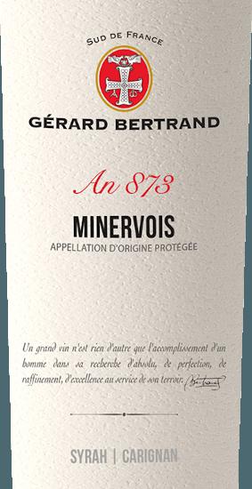 Heritage 873 Minervois 2017 - Gérard Bertrand von Gerard Bertrand