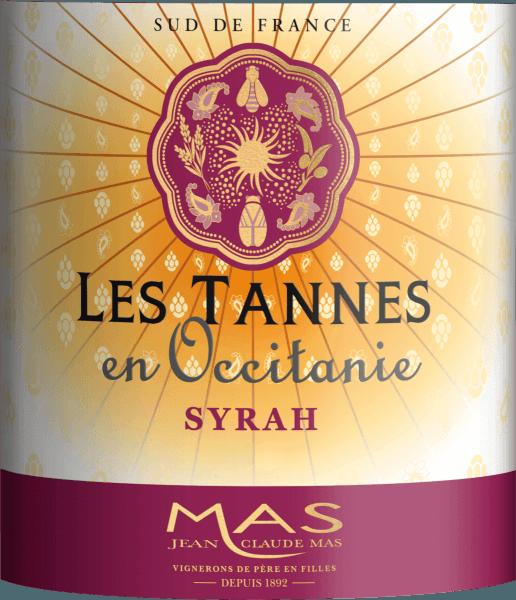 Syrah Pays d'Oc IGP 2018 - Les Tannes en Occitanie von Les Tannes