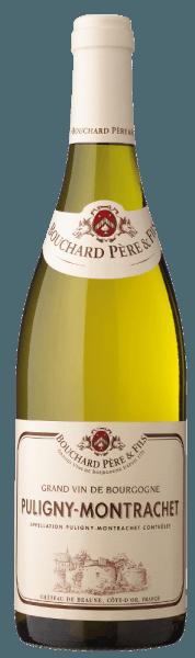 Der Puligny-Montrachet AOC von Bouchard Père et Fils zeigt sich grüngolden im Glas, an der Nase entfaltet dieser französische Weiwein aus dem Burgund ein feines fruchtig-florales Bukett, mit leichten Holznoten. Am Gaumen frisch und harmonisch, subtile, ausgewogene Struktur, mit Kraft und Eleganz bis in den langen Nachhall. Vinifikation des Puligny-Montrachet AOC von Bouchard Père et Fils Für den Puligny-Montrachet werden 100% Chardonnay-Trauben vinifiziert, die in der gleichnamigen Appellation wachsen. Nach der selektiven manuellen Lese werden die Trauben schonendend gepresst. Der Wein reift anschliessend 10 bis 12 Monate in französischen Eichenholzfässern, davon bis zu 15% neue Fässer. Food pairing für den Puligny-Montrachet AOC von Bouchard Père et Fils Geniessen Sie diesen eleganten, frischen weißen Burgunder zu Fisch, Meeresfrüchten und Schalentieren.
