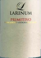 Vorschau: Larinum Primitivo IGT 1,0 l 2018 - Farnese Vini