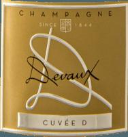 Vorschau: La Cuvée D Brut - Champagne Devaux