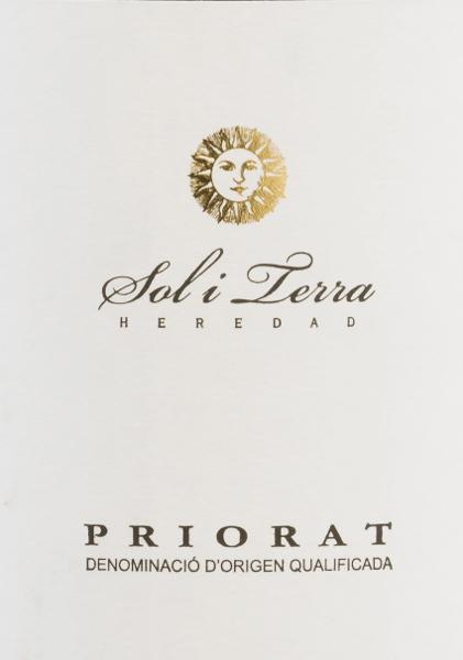 Sol i Terra Tinto DOQ 2015 - Grupo Reserva von Vinicola del Priorat
