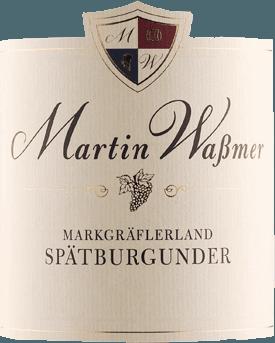 Markgräflerland Spätburgunder 2017 - Martin Waßmer von Martin Waßmer