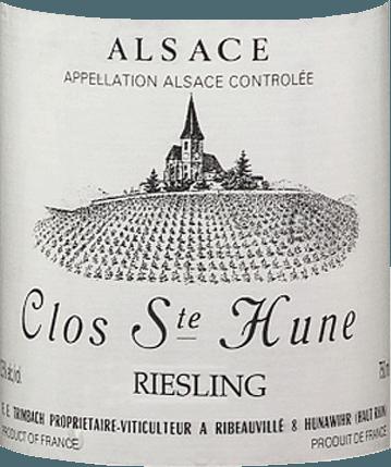 Riesling Clos Sainte Hune 2013 - F.E. Trimbach von Trimbach